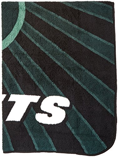 The Northwest Company Officially Licensed NFL New York Jets Strobe Sherpa on Sherpa Throw Blanket, 50