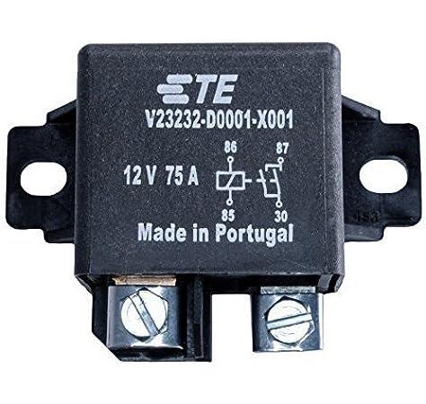 Amazon.com: Tyco TE Connctivity V23232-D0001-X001 75A High Current  Automotive Relay: ElectronicsAmazon.com