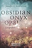 download ebook obsidian: obsidian. onyx. opal. leseproben (german edition) pdf epub