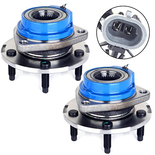 ECCPP 513179 Front Premium Grade 5 Lugs ABS Left & Right Wheel Hub and Bearing Assembly (513179 ()