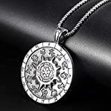 Unisexs Men Women Titanium Steel Necklace Pendant Chain Fashion Jewelry Gift