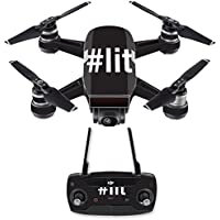 Skin for DJI Spark Mini Drone Combo - Lit 2| MightySkins Protective, Durable, and Unique Vinyl Decal wrap cover | Easy To Apply, Remove, and Change Styles | Made in the USA