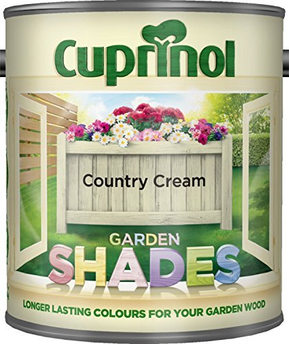 New 2015 Cuprinol Garden Shades Country Cream 1L by Cuprinol