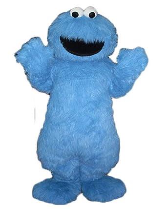 Amazon com: ARISMASCOTS Adult Size Cookie Monster Mascot Costume