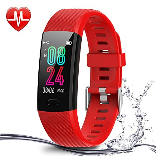Airbinifit Kids Fitness Tracker, Activity Tracker for Girls and Boys Age 5-16, Waterproof Fitness Watch for Kids with…