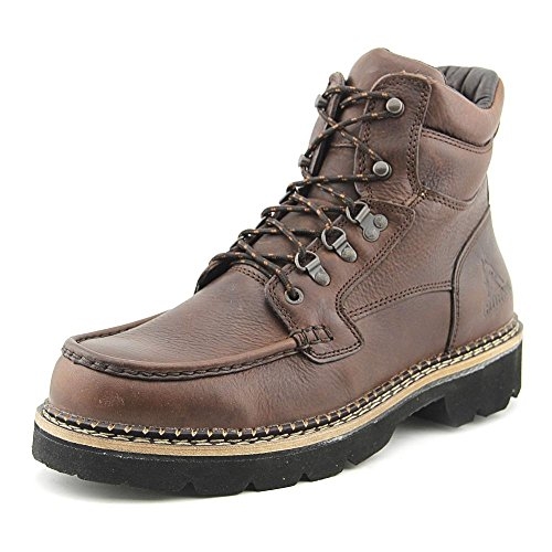 Rocky Men's Cruiser Lace-Up Casual Boot Dark Brown 13 D(M) US
