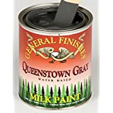 General Finishes Queenstown Gray Milk Paint 1 Gallon