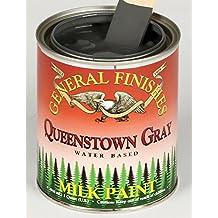 General Finishes Queenstown Gray Milk Paint 1 Quart