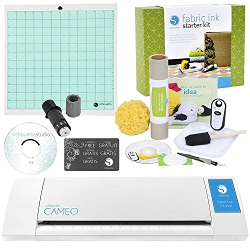 Silhouette Digital Craft Cutter with Fabric Ink Starter Kit