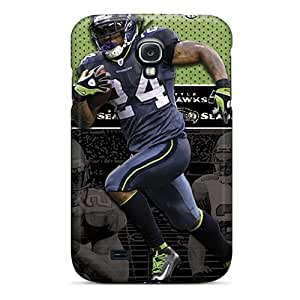 New Fashionable Ksander Ekm1082sfJN Cover Case Specially Made For Galaxy S4(seattle Seahawks)