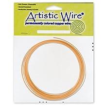 Artistic Wire 14-Gauge Bare Copper Coil Wire, 10-Feet