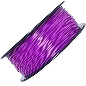 Priline tpu-1kg 1.75 3d printer filament, dimensional accuracy +/- 0.03 mm, 1kg spool,purple