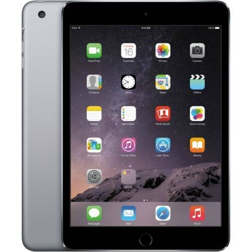 Image of Apple iPad Mini 3 MGNR2LL/A VERSION (16GB, Wi-Fi, Space Gray) (Renewed) Tablets