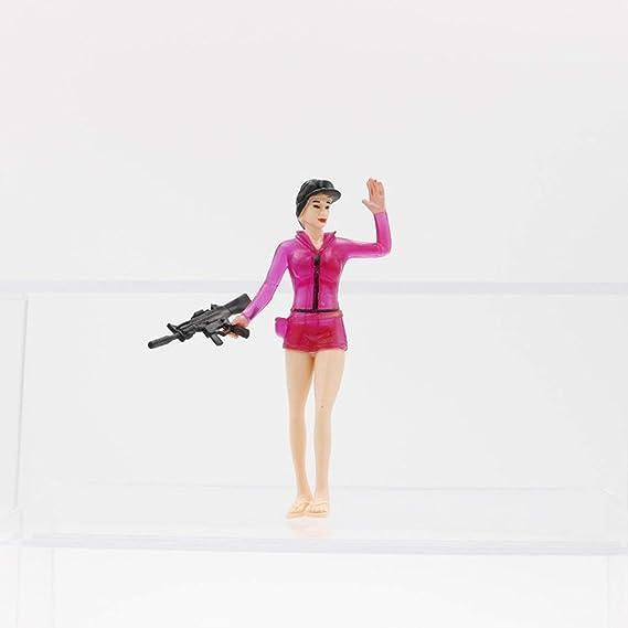Juego de Juguete con Personajes Fortnite Figura de acción Modelo de Juego Inspirado en la colección de Regalos de Videojuegos Fortnite de 13 años en ...