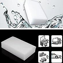 10 Pcs Melamine Sponge Melamine Sponge Cleaning Magic Sponge 1006020mm New Melamine Sponge Eraser Melamine Cleaner Eco-Friendly White Kitchen Magic Eraser by Generic