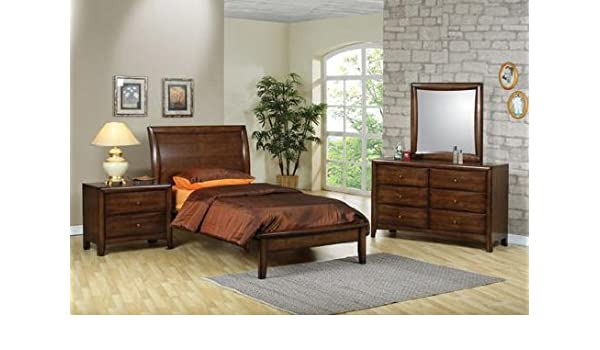 Amazon.com: Scottsdale Youth 4PC Full Size Bedroom Group in ...
