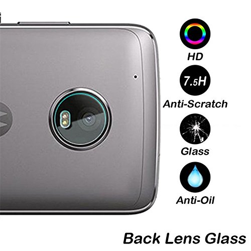2X Ultra Clear Camera Protector Lens Tempered Glass Cover For Motorola Moto G5 Plus Camera lens