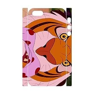 iphone5s Phone Case White Aladdin Rajah CZL5856049