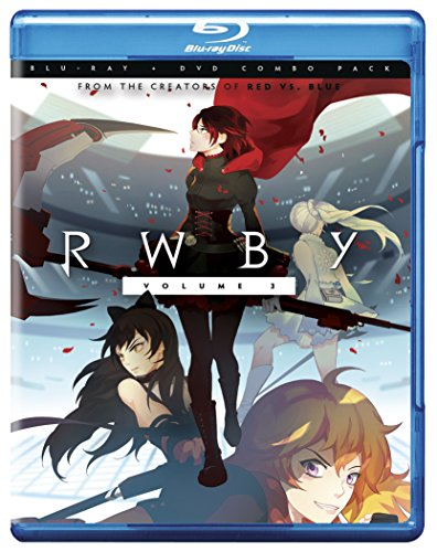 RWBY 3 Blu ray None product image