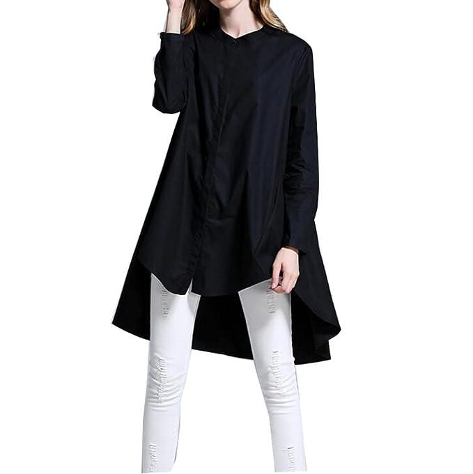 CHLXI Camisa Para Mujer Camiseta De Manga Larga Para Embarazadas,Black-L