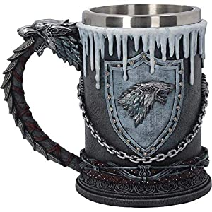 Game of Thrones House Stark Tankard Mug Official Merchandise