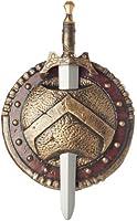 California Costumes Spartan Combat Shield And Sword Costume Accessory