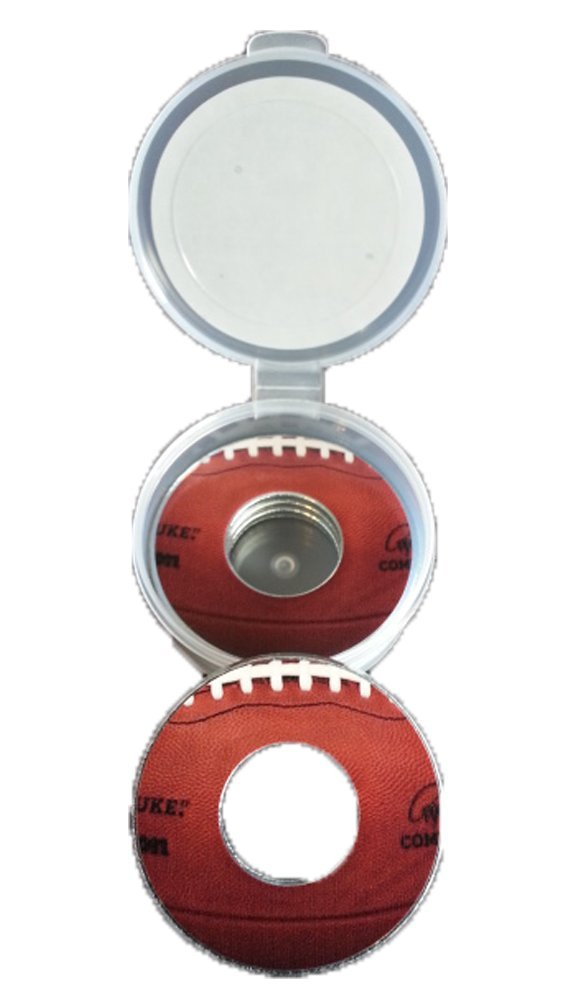 Football Pitching Washers W/Case