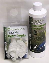 ORGANICA BioFire FIREPOT FUEL Starter Kit - 16 oz by Evergreen