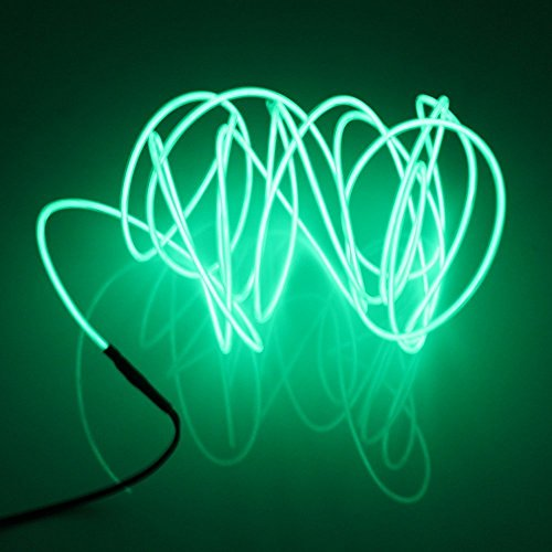 Avec Neon Wire Lerway LumièreLed El Cable Lampes 3m Fil Flexible IYWHED29
