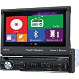 POWER ACOUSTIK PD-72H2B 7'''' Single-DIN In-Dash Motorized LCD Touchscreen DVD Receiver with Bluetooth(R) & MHL(R) MobileLink X2 electronic consumer