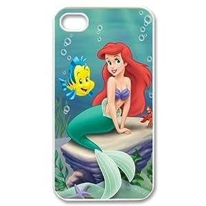 Disney Ariel The Little Mermaid iPhone 4/4S Fancy Plastic Colorful Case