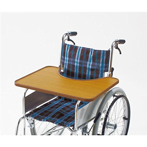 車椅子用テーブルGRII 木製 切り込み部/幅35cm×奥行17.5cm (車椅子関連用品/介護用品) B07D1LZ5SL