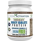 Cheap Lactose Free Protein Powder for Women & Men, Low Carb Chocolate 100% Whey Isolate, Low Cholesterol Low Calorie Non-GMO Whey Isolate with Stevia for Muscle Nutrition and Natural Weight Loss Now