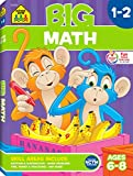 img - for School Zone - Big Math 1 - 2 Workbook - Ages 6 to 8, First and Second Grade, Addition, Subtraction, Early Math book / textbook / text book