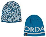 Jordan Reflections Blue Lagoon Reversible Boys Beanie Hat Size: 8/20