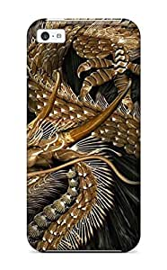 Cute Tpu John A Covey Dragon Emblem Case Cover For Iphone 5c