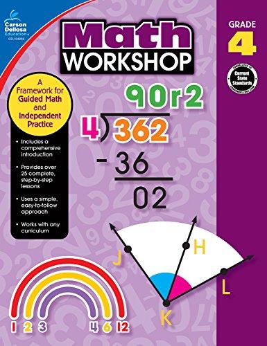 - Carson-Dellosa Math Workshop Resource Book, Grade 4