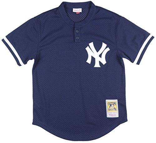 - Mitchell & Ness Mariano Rivera Navy New York Yankees Authentic Mesh Batting Practice Jersey X-Large (48)