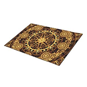 Eryoubs Doormat Pillar of Ages Mandala Outdoor Mats