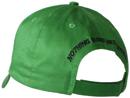 John Deere Embroidered Logo Baseball Hat - One-Size - Men's Green