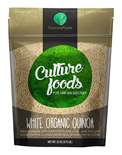 Culture Foods The Finest Organic Quinoa Peruvian Whole Grain 36 Piece Value Pack by Culture Foods
