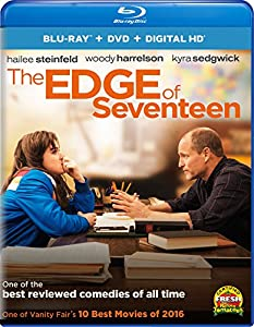 Cover Image for 'Edge of Seventeen, The (Blu-ray + DVD + Digital HD)'