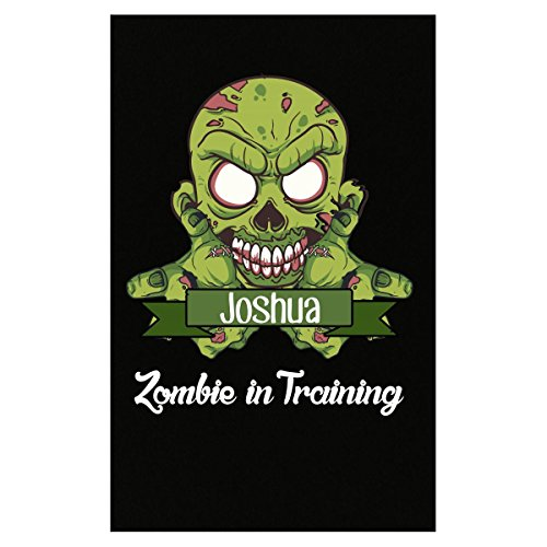 Prints Express Halloween Costume Joshua Zombie in Training Funny College Humor Gift - Poster