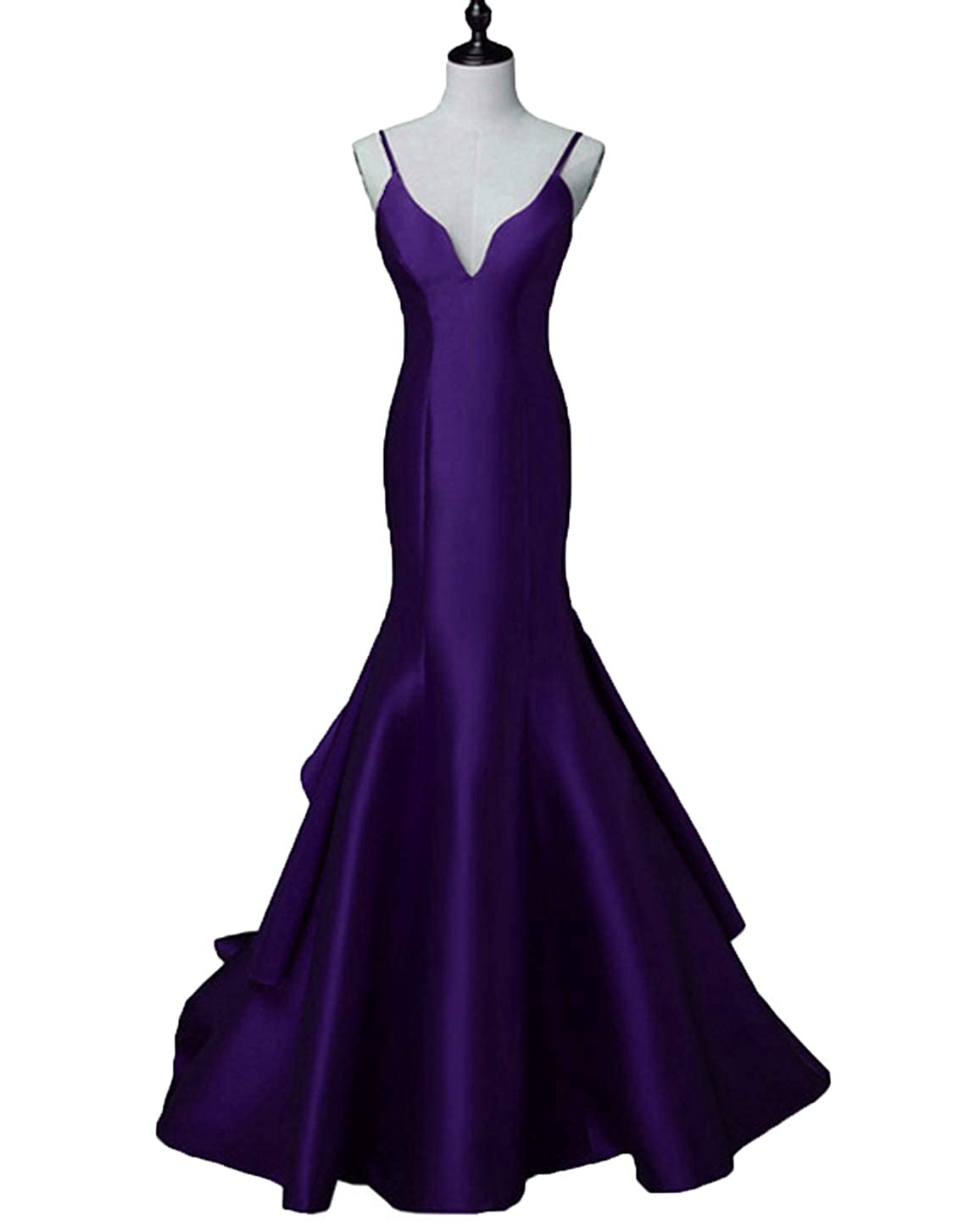 Purplestraps Scarisee Women's Sweetheart Mermaid Prom Evening Party Dresses Tiered FormalSA51