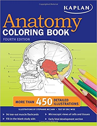 Kaplan Anatomy Coloring Book: 9781419550409: Medicine & Health ...