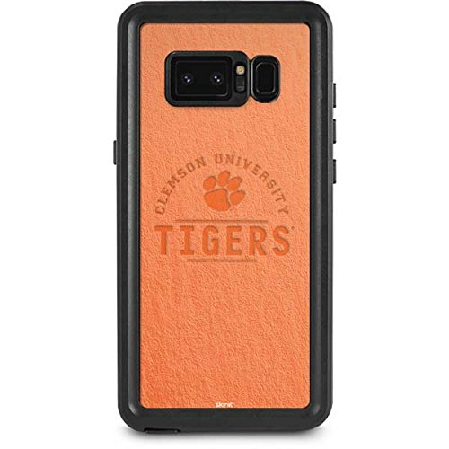 Clemson University Galaxy Note 8 Case - Clemson University Tigers | Schools X Skinit Waterproof Case Clemson Tigers Note