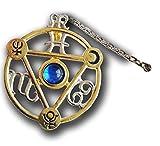 Briar Elemental Water Talisman and Card Charm Pendant Amulet