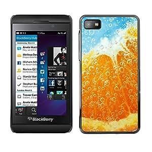 TopCaseStore / la caja del caucho duro de la cubierta de protección de la piel - Plant Nature Forrest Flower 39 - Blackberry Z10