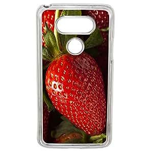 Lapinette COQUE-LG-G5-FRAISE - Funda para LG G5, diseño de fresas
