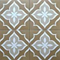 8x8 Flora Beige Porcelain Stoneware Matte Finish Floor and Wall Tile